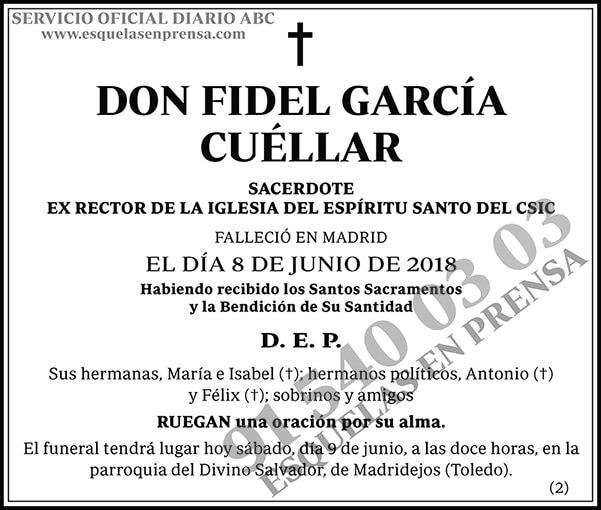 Fidel García Cuéllar